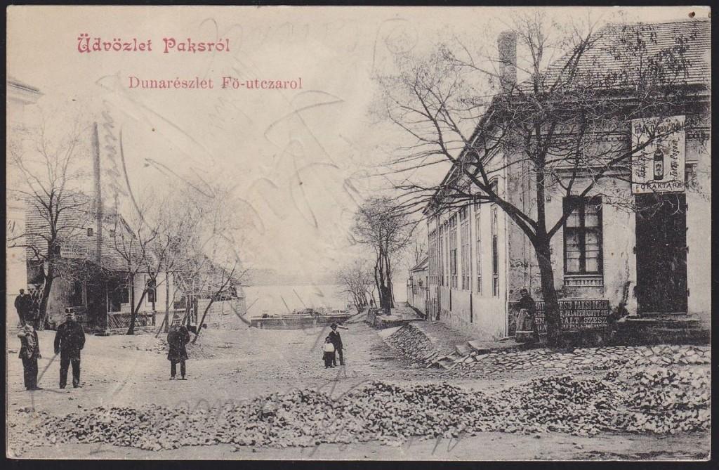 Duna-korzó felé vezető oldal